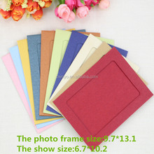 3x 5 inch10 Pearl colors Photo Frame 3R paper photo frame( 10 pcs/set)