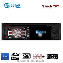 auto car dvd for universal single din with 3inch screen usb fm radio receiver powerful output audio bluetooth combination