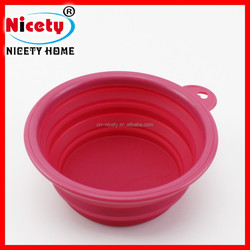 Fashion Dog Feeding Bowl Silicone Dog Pet Bowl Collapsible Dog Water Bowl
