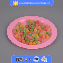 disposable clear compartment party plastic plate