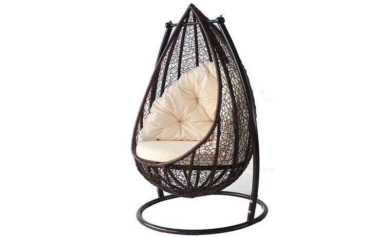 Good price garden patio wicker swing chair