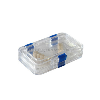 Plastic Transparent Membrane Orthodontic Retainer Case