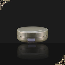cosmetic use round air cushion empty powder puff containers
