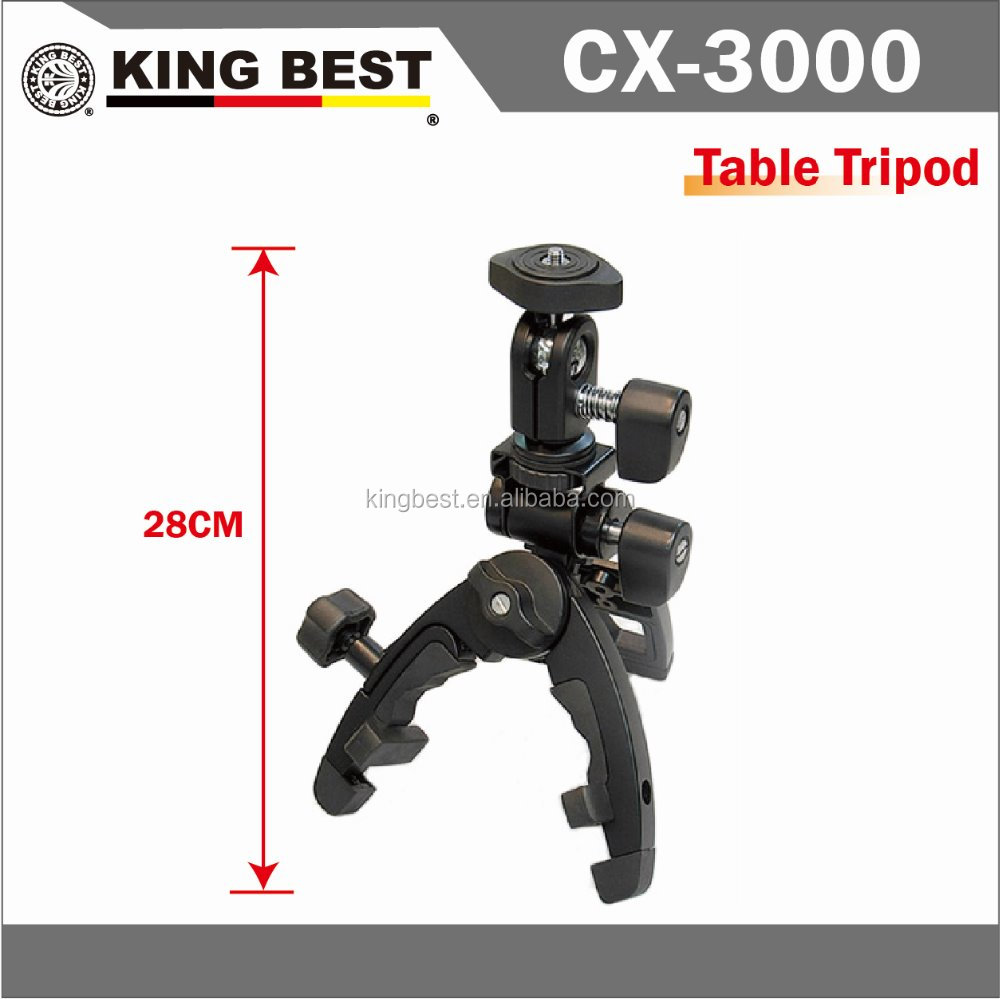 KINGBEST CX-3000 Metal Tripod / mobile phone holder tripod /camera tripod / professional tripod / metal clamp tripod