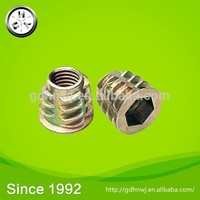 Sweet green after-sale service system Modern style high preccision standard or non-standard zinc alloy wheel nuts