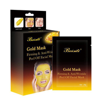 Personal Beauty Care Disposable Gold Face
