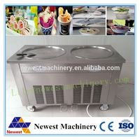 5% discount freezers for ice-cream /big square pan 500mm instant fried ice cream machine from factory design good price