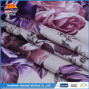 China manufacturer paper printed velboa slipper fabric