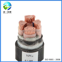 2016 4x25mm2 underwater low voltage power extension electrical cable
