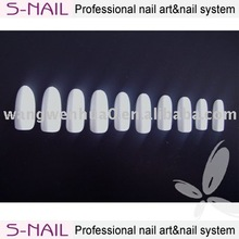 white round acrylic nail art products