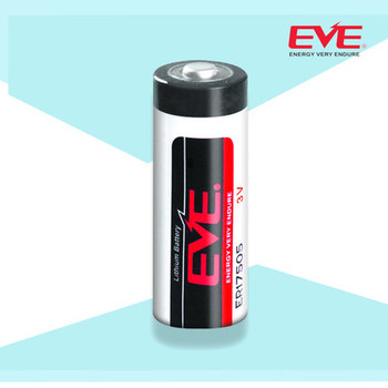EVE Battery Lithium Primary ER17505 Lisocl2 Bobbin Type Batteries Lithium Thionyl Chloride Battery