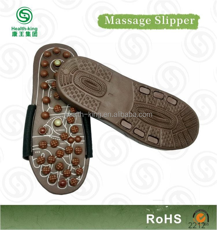 Plush brown shoes for massage therapists
