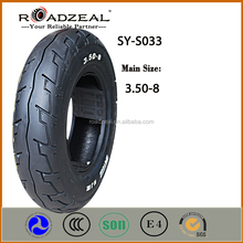 good motorcycle tire 3.50-8 with new design roadzeal brand