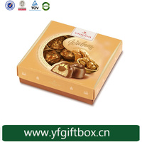 Alibaba china trade assurance 100% quality custom chocolate covered strawberries boxes paper gift box