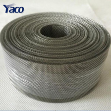25mesh stainless steel filter blet screen mesh 127mm x 30m roll