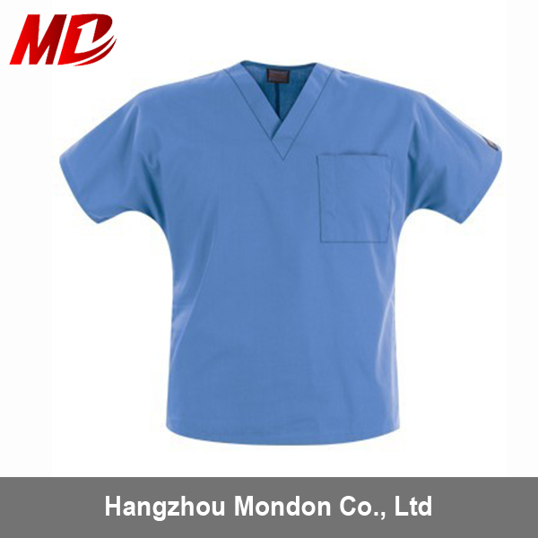 High Qualitity Medical scrub suit set pants and top