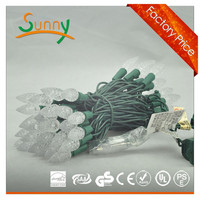 Waterproof LED Christmas String C6 C7 Ball Lighting with 5m length