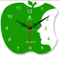 High quality low cost acrylic melting clock