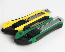 Cheapest price Plastic grip Utility knife Box cutter Cutter knife