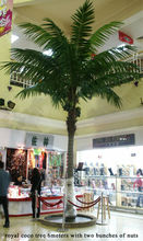 Hot selling tree indoor&outdoor decoration Artificial coconut tree/fake coco tree/high imitation coconut tree with fruit