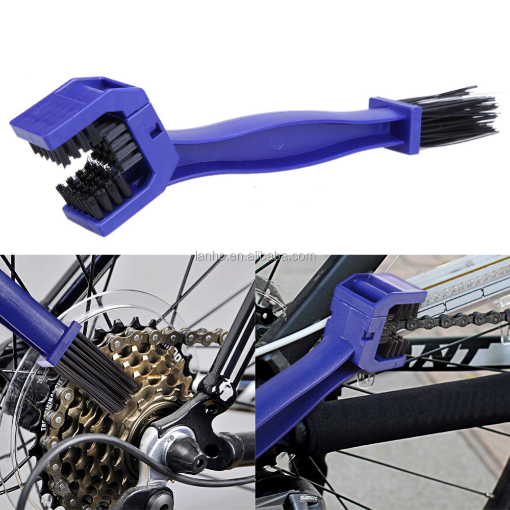 Motorcycle Chain Cleaner Bicycle Cycling Crankset Chain Brush Tool Gear Grunge Brush Chain Wheel Flywheel Cleaning Brush