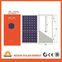 Competitive poly Solar panel for sale from China with TUV CE UL