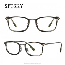 Italian vintage design light weight thin frame children eyeglasses optical.