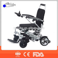 Folding small electric wheelchairs