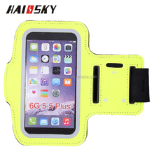 HAISSKY Gym Armband Wrist Phone Case Running Bag For Iphone 7 7 plus Sports Armband
