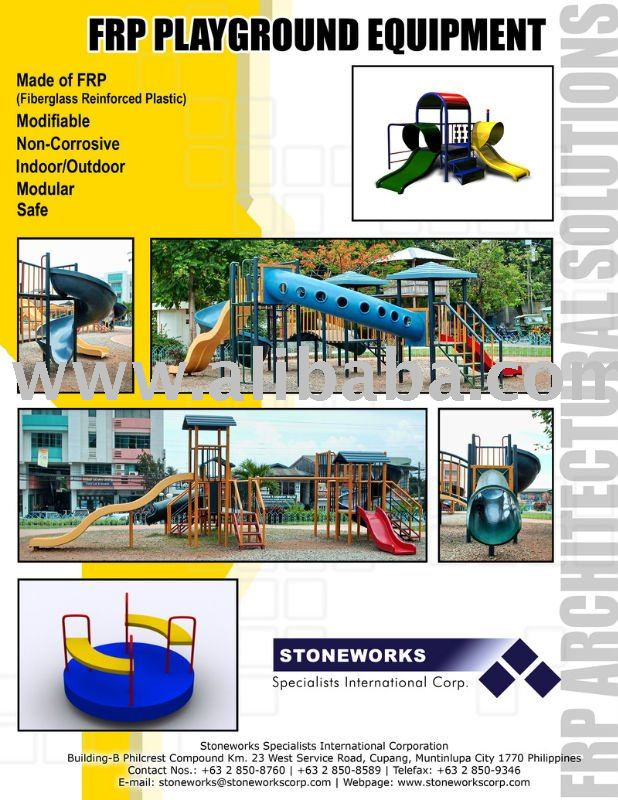 Fiberglass Children Playground Equipment