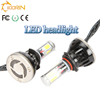 top quality high lumen the new car led headlight h4 h1 h3 h7 h11 h13 9004 9005 9006 9007 cob chip auto led headlight bulb