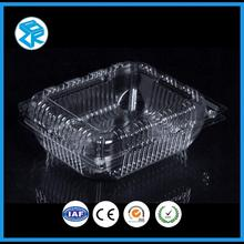 transparent plastic cheap pet fruit box with vented hole