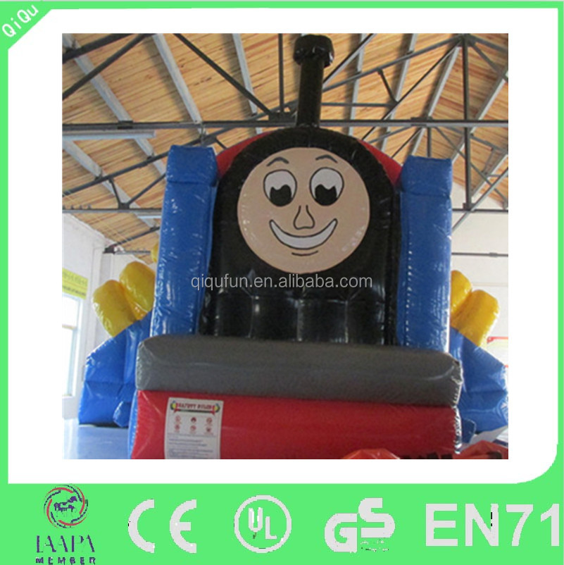 funny kids thomas the train inflatable bounce house on wholesale