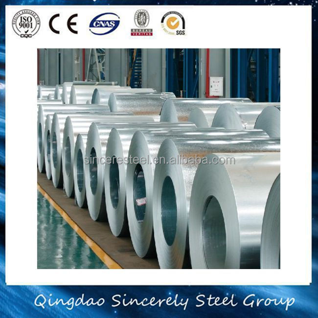TOP GRADE 34 gauge hot dipped galvanized steel coil for wholesales