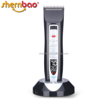 Shernbao PGC-660 Low Noise Rechargeable hair trimmer Cordless Pet Dog hair clipper