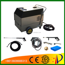 CE No boiler 30bar diesel steam cleaning car wash machine, steam cleaning machine for car