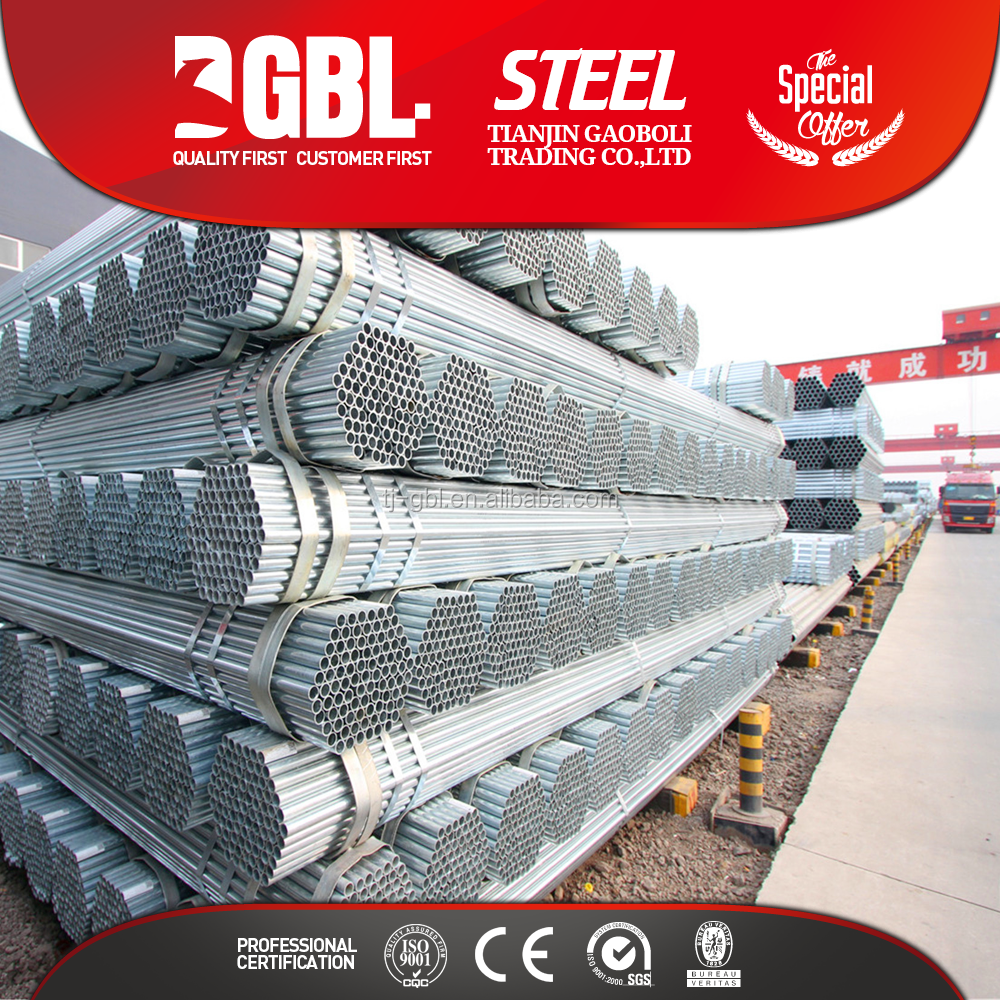 factory price of galvanized scaffolding steel pipe