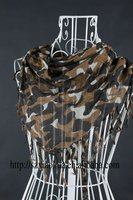 XH-1093 New fashion 100% viscose triangle scarf