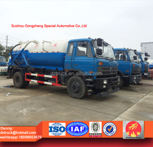 8cbm sewer suction truck, Dongfeng waste water sucking truck 8000liters