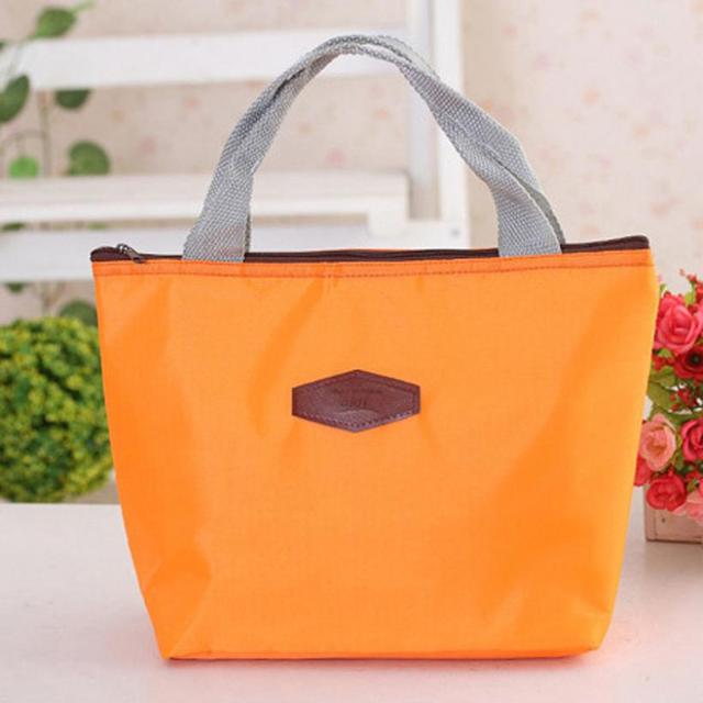 Family Lunch Bag Portable Waterproof Picnic Insulated Food Storage Box Tote Bolsa de Almuerzo #2415