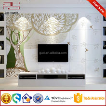 cartoon tree picture of 3d wall tv panel porcelain tile
