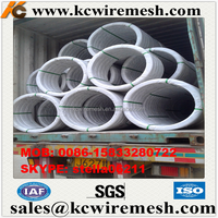 Factory!!! Cheap !!! KangChen Farm Fence Oval Wire / Galvanised Oval Steel Wire