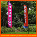 China Mainland Durable screen printing advertising outdoor teardrop flags