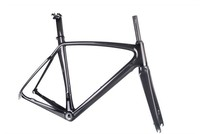 Carbon fiber road bicycle frame, Disc carbon frame road bike frameset 2014 model