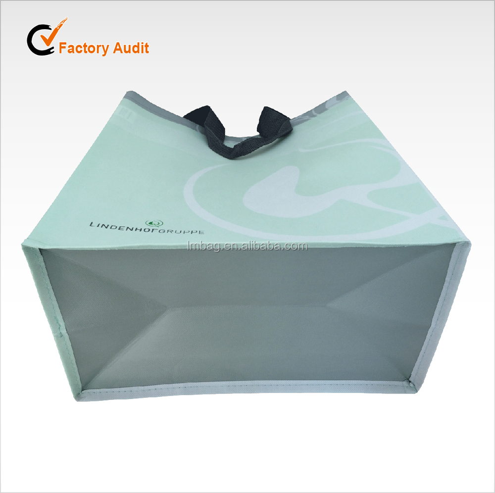 Popular style reusable laminated nonwoven bag