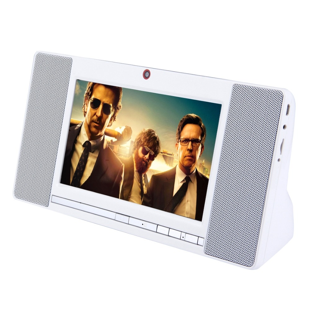 High quality WiFi Smart Speaker, 7.0 inch Display, Android 4.4 Allwinner A33 Cor tex A7 Quad Core 1.3GHz,RAM: 1GB,ROM: 8GB,2.0MP
