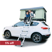 Stock Available Self-driving Camping Car Accessories Car Hardshell rooftop <strong>Tent</strong>
