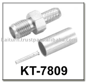 Reliable Quality (KT-7809) SMA Female Crimp type Connector