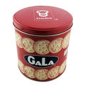 Nice-can Wholesale Custom Empty Round Can Cookies Biscuits Metal Tin Box