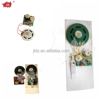 Greeting card animal sound module,customize sound card sound module